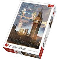 """Пазл """"Лондон на рассвете"""" 1000 шт. Trefl (TFL-10395)"""