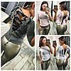 Женская кофточка со шнуровкой на спине 15888