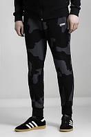Штаны спортивные мужские зауженные URMOUR CAMO камуфляж (трикотажные брюки)