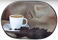 Салфетка из пластика на плотной основе для кафе и дома