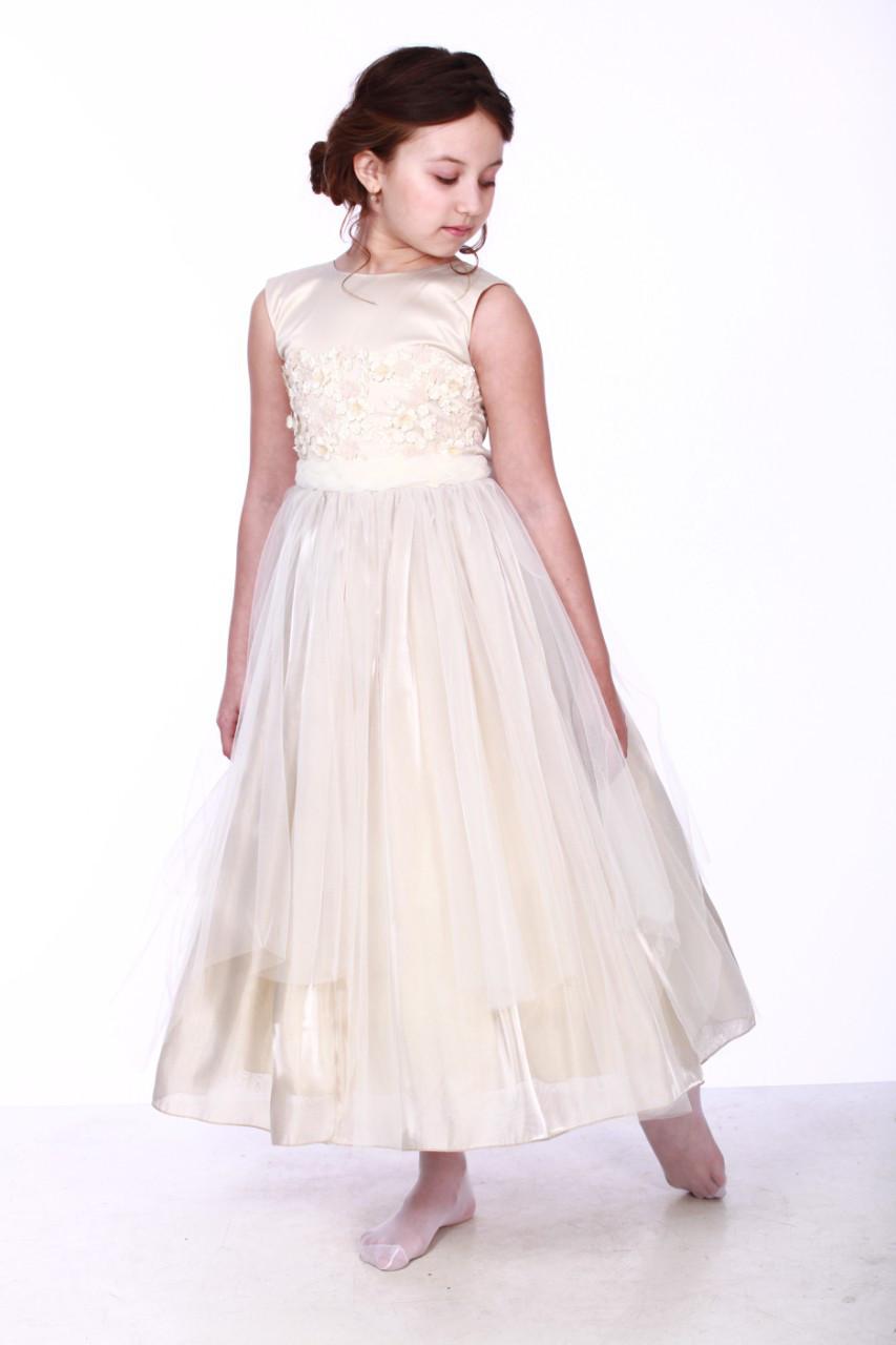 Эксклюзивное нарядное платье для девочки