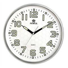 Настенные часы в офис POWER 8302WKST