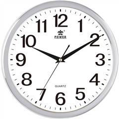 Офисные настенные часы POWER 8303WKS