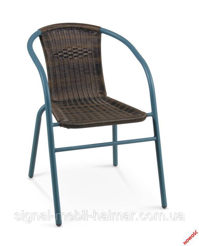Плетенный стул GRAND-2 (коричневый) (Halmar)