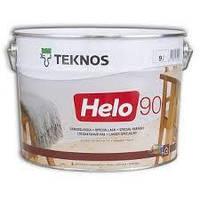Лак паркетный TEKNOS helo 90 0.9 л. глянец Текнос хело 90