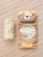 """Слипик Sleep Baby (спальный мешок) для детей 170x70  """"Щенок""""., фото 1"""