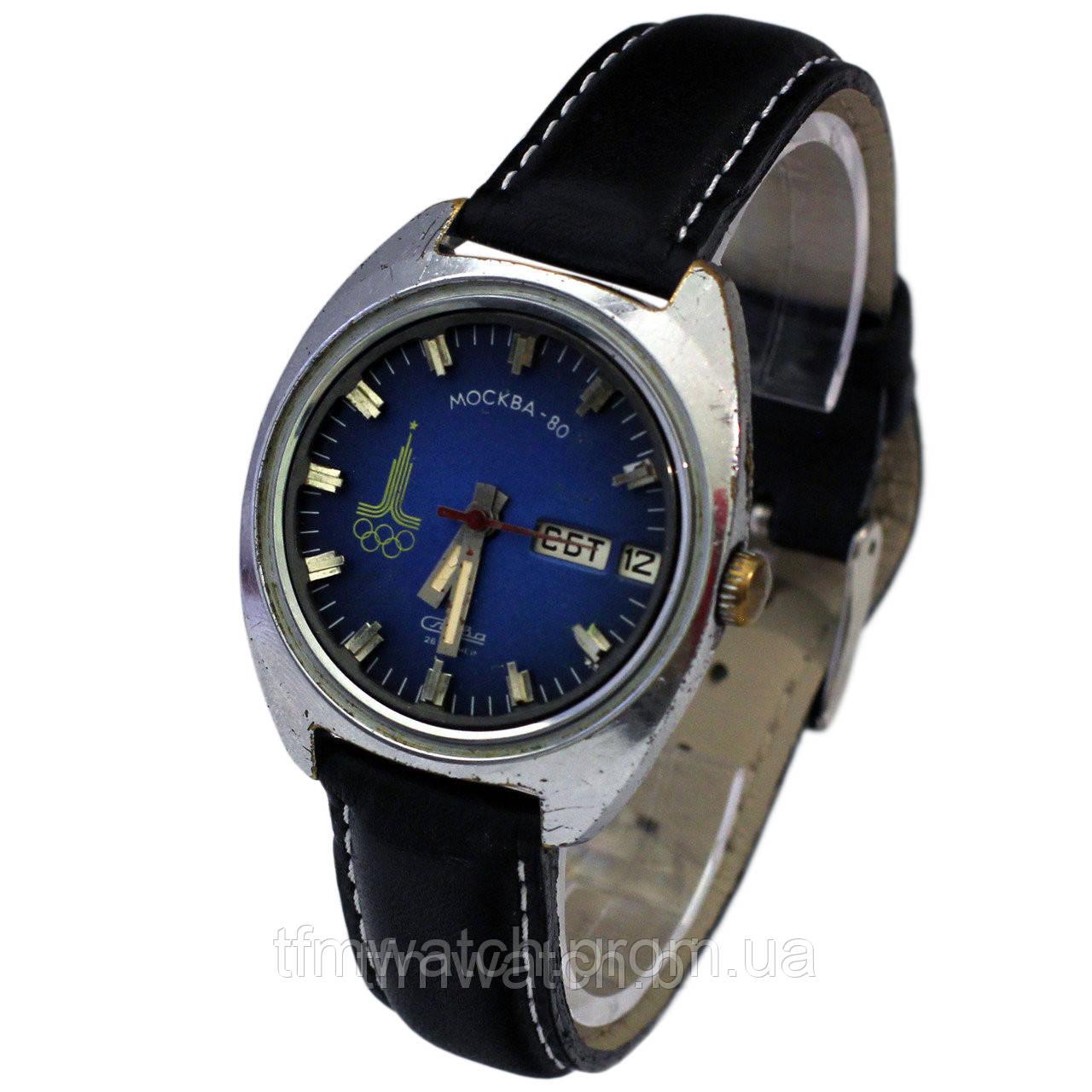 Часы Слава Москва 80 - Магазин старинных, винтажных и антикварных часов  TFMwatch в России 8bc9312f29a