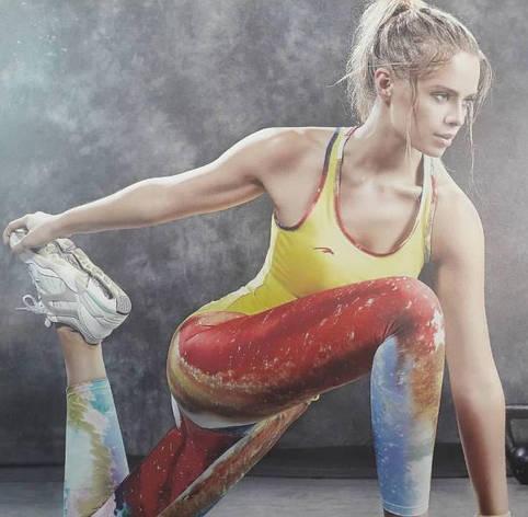 Комплект для фитнеса  женский Maraton  цветной, фото 2
