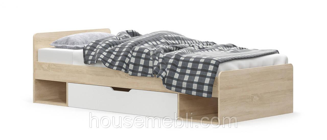"""Кровать 900 """"Типс"""" Мебель сервис"""
