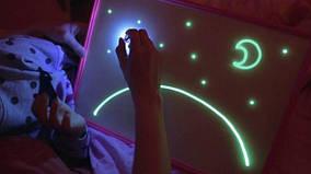 """Планшет для рисования, световые картины """"Рисуй Светом"""" формат А5"""