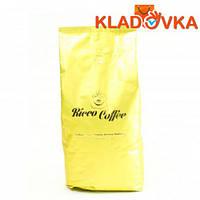 """Кофе зерновой """"Ricco Coffee Crema Aroma Itlyano"""" (золотой пакет) 1000г."""