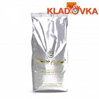"""Кофе зерновой """"Ricco Coffee Platinum Selection"""" (белый пакет) 1000г."""