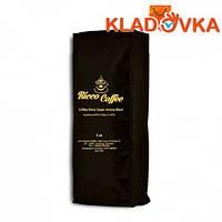 """Кофе зерновой """"Ricco Coffee Super Aroma Black"""" (черный пакет) 1000г."""