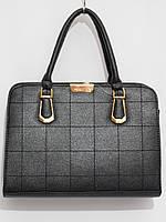 Недорогая каркасная сумка, черная