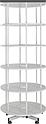 Стеллаж вращающийся  для папок  6 полок, фото 2