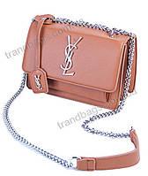 Женская сумка клатч 822 brown брендовые сумки, брендовые клатчи недорого в Одессе