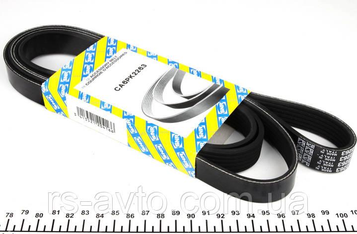Ремень генератора MB Mercedes Sprinter, Мерседес Спринтер CDI (-AC) CA6PK2263, фото 2