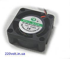 Вентилятор  25-25-10 (  12v- 0.09A)  пластик