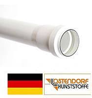 Труба PP 32 х 250 х 1,8 мм внутренней канализации (белая) Ostendorf HT Германия
