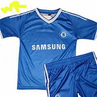 Детская (5-10 лет) футбольная форма ''Мата'' - ФК ''Челси'' (Лондон) - синяя, домашняя