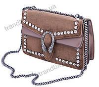 5b929d64e3d9 Женская сумка клатч 1035 brown брендовые сумки, брендовые клатчи недорого в  Одессе