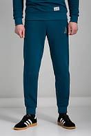 Штаны спортивные мужские зауженные URMOUR DEEP синие (трикотажные брюки)