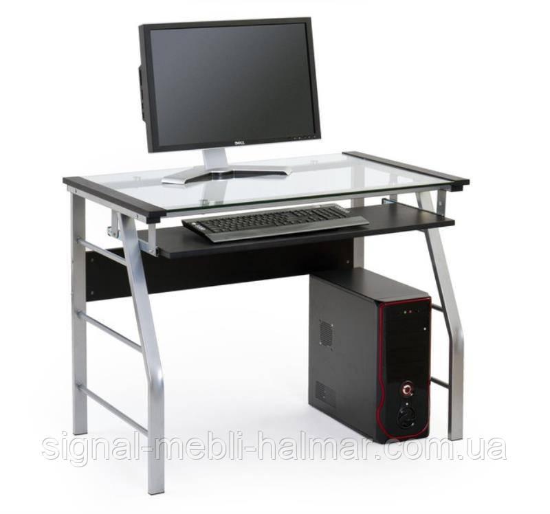 Компьютерный стол B-18 (черный) (Halmar)