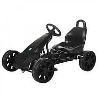 Детский веломобильный-педальный Карт M 3106-2 черный