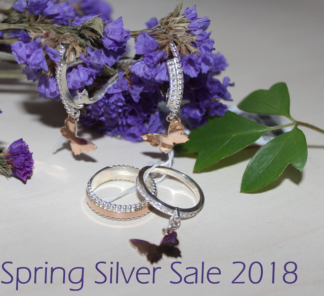 Spring Silver Sale 2018