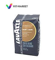Оригинал. Зерновое кофе 1 кг Lavazza Espresso Crema e Aroma код KL1003