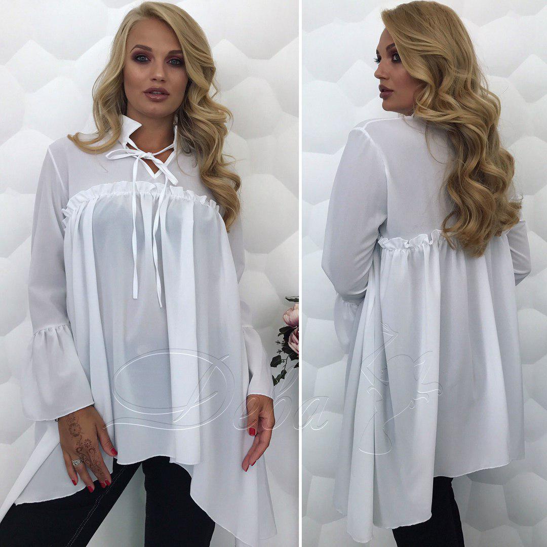 d55a2bf2a02 Туника-рубашка батальная для женщин - Beatrissa-shop - оптовый  интернет-магазин в