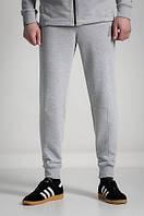 Штаны спортивные мужские зауженные URMOUR MEL серые (трикотажные брюки)