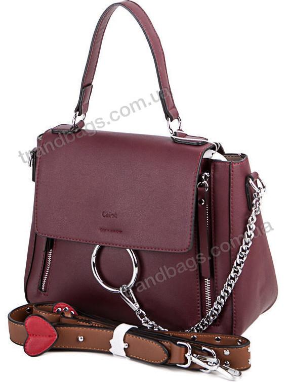 4dacc3639128 Женская сумка 2097S wine Брендовые женские сумки, недорого купить в Одессе  7 км