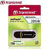 Флешка Transcend JetFlash 300 32GB Black (TS32GJF300)