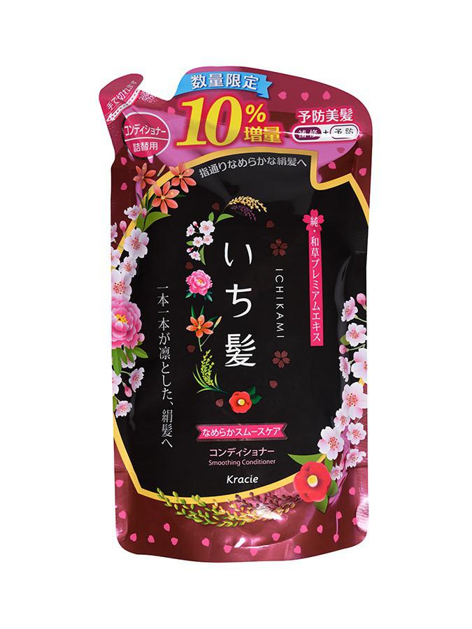 Бальзам-ополаскиватель Ichikami разглаживающий для поврежденных волос с ароматом горной сакуры 374 мл (72144)