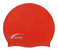 Шапочка для плавания «юниор» красного цвета
