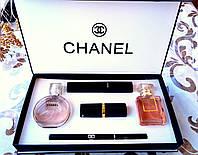 Женский подарочный набор Chanel (5 в 1)