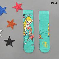 Носки Winx для девочки. 5-7;  7-9 лет