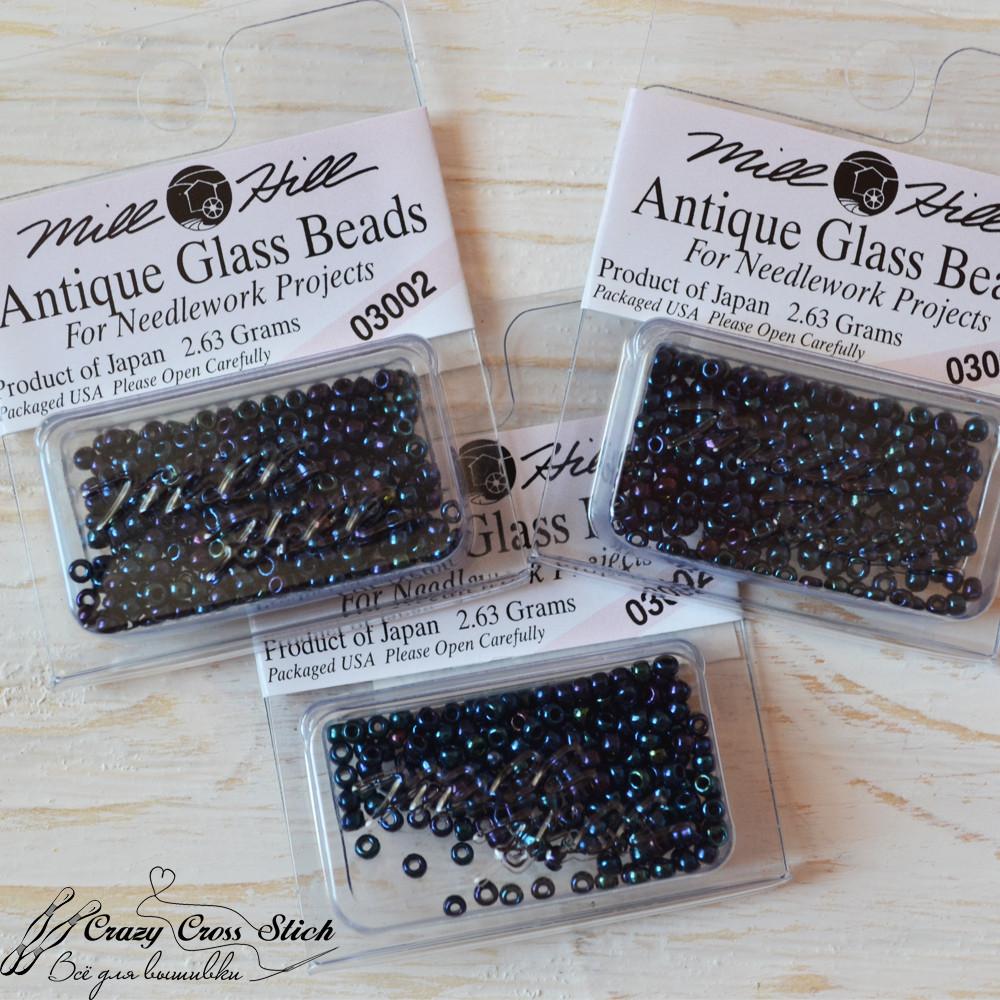 Бисер Antique Glass Beads Mill Hill 03002