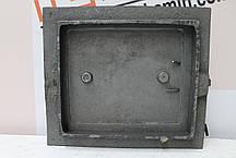Дверцы топочные 290х335мм Чугунная дверка для печи барбекю, фото 2