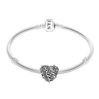 Шарм «Любовь« и поцелуи в стиле Pandora 796564
