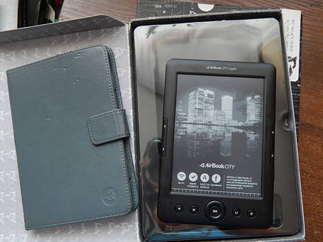 Электронная книга AirBook City Light HD Black, фото 2