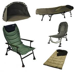 Карповые палатки, кресла, раскладушки