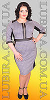 Платье большого размера Л-1478 (р.52-60) , фото 1