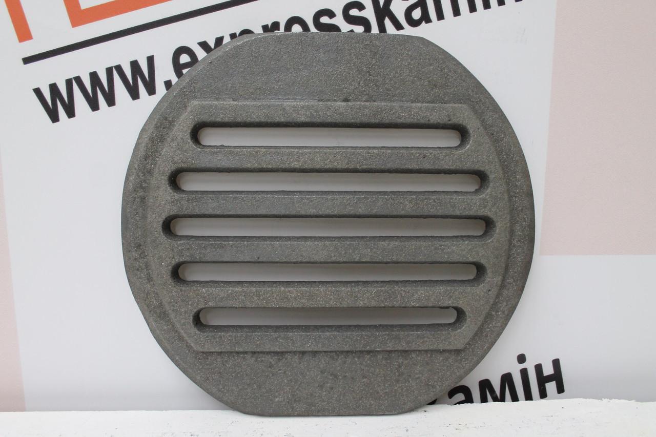 Колосник чугунный круглый 310х280мм