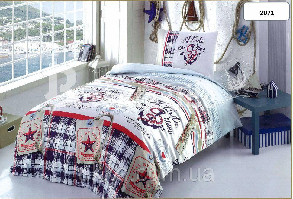 Детское постельное белье полуторное Якорь комплект подростковый - Юка в  Хмельницком 29518ef8c9dd7