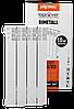 500/80 Биметаллический радиатор 4 секции TEPLOVER