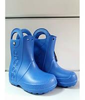 Сапоги Детские Crocs Резиновые Оригинал Крокс Синие