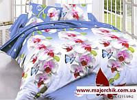 Комплект постельного белья 2-спальный евро Орхидеи