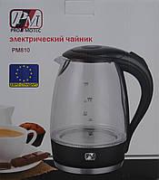 Електричний чайник Promotec PM-810 якість Евростандарт колір чорний